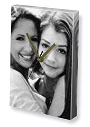 ALYSON HANNIGAN & SARAH MICHELLE GELLAR - Canvas Clock (A4 - Signed by the Artist) #js001