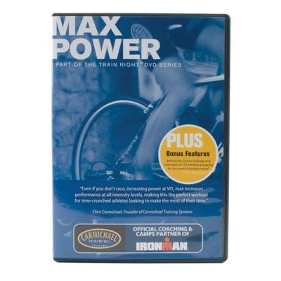 Carmichael Training Systems CTS Train Right Performance Series Max Power Cycling DVD - 2166-MP