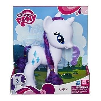 My Little Pony Grand Poney de 22 cm environ RARITY avec une belle chevelure et un peigne