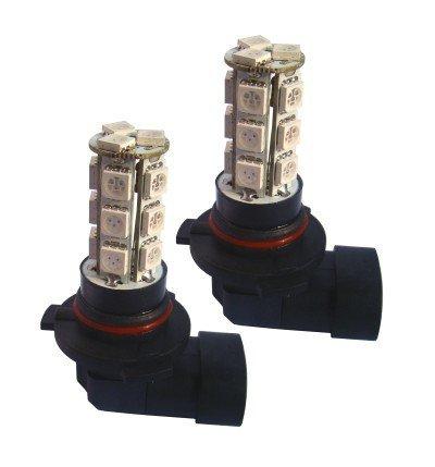 Agt 9006 / Hb4 18-Smd Led Bulbs White Fog Light Bulbs (Pack Of 2)