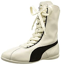 Puma Womens EskivaHiWns White Leather Boots - 6 UK/India (39 EU)