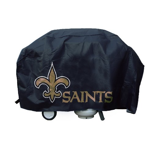 NFL New Orleans Saints Deluxe 67-Inch Grill Cover at Amazon.com
