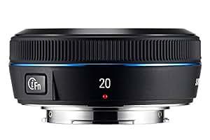 Samsung EX-W20NB Objectif 20mm iFn pour Appareil photo gamme NX