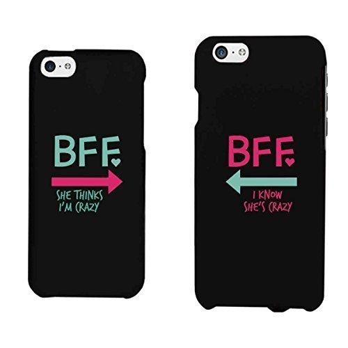 2015 CustomizedFunny BFF Phone Cases - Crazy Best Friend Phone Covers for iphone 4, iphone 5, iphone 5C, iphone 6, iphone 6 plus, Galaxy S3, Galaxy S4, Galaxy S5, HTC M8, LG G3