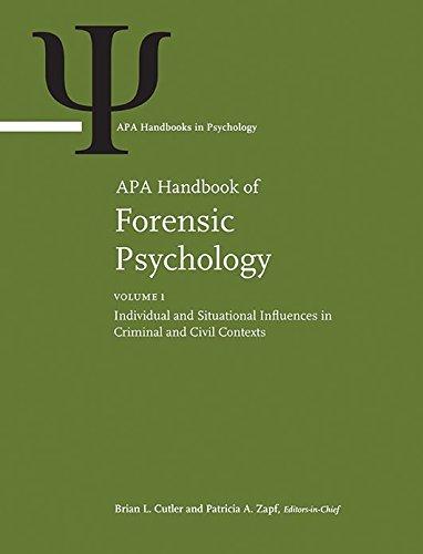 APA Handbook of Forensic Psychology (Apa Handbooks in Psychology)