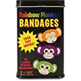 Accoutrements Rainbow Monkey Bandages