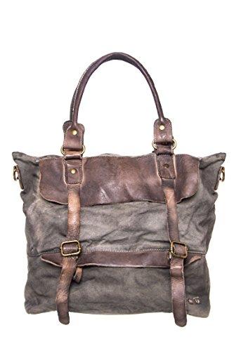 Cascade Canvas Leather Bag