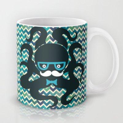 Society6 - Octopus Coffee Mug By Mrs. Opossum