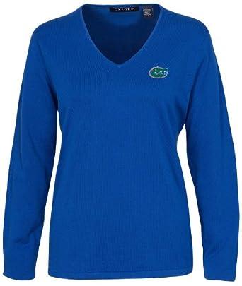 Oxford NCAA Florida Gators Ladies Carson V-Neck Sweater by Oxford