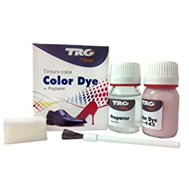 TRG the One Self Shine Leather Dye Kit #143 Mauve