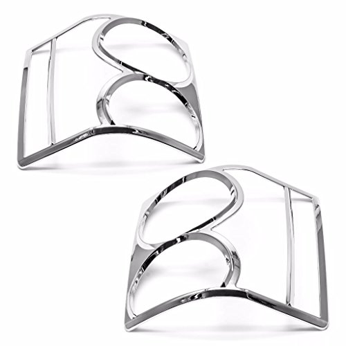 Sizver Chrome Tail light cover For 2002-2010 Range Rover (Range Rover Accessories 2004 compare prices)