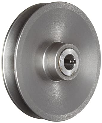 "Lovejoy 11401 Hexadrive Variable Speed Pulley, 3/4"" Bore, 36 inch-pounds Torque Capacity, 6"" OD, 3.56"" Overall Length"