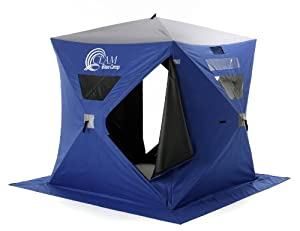 Clam® Base Camp 6x6' Hub Pop - Up Icefishing Shelter