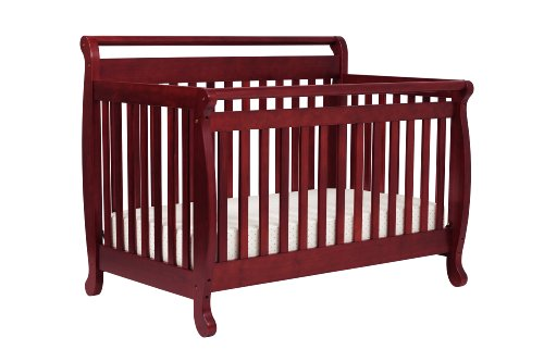 DaVinci Emily 4-in-1 Convertible Crib with Toddler Rail, Cherry
