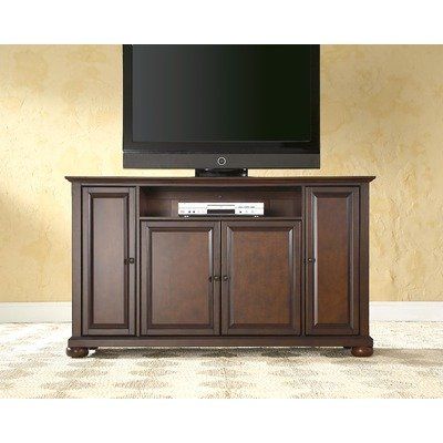 Crosley Furniture Alexandria 60-Inch TV Stand, Vintage Mahogany
