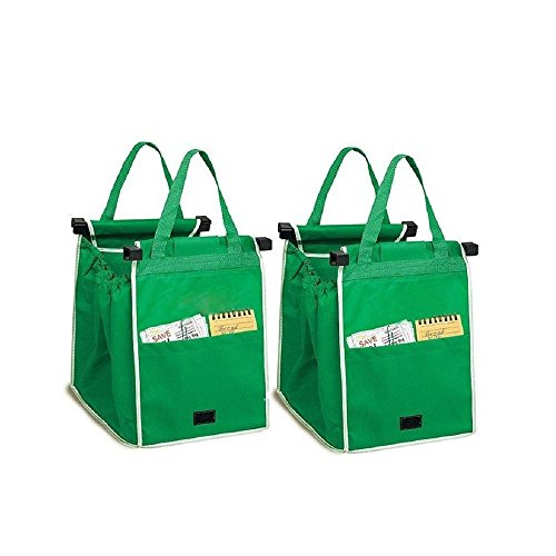 2-x-foldable-supermarket-shopping-trolley-grab-bags-with-clips-shopper-carrier