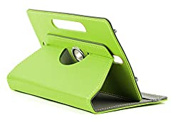 DOMO nCase B9 Smart Cover Carry Case For 7 inch Tablet PC With 360 Degree Rotation Tablet Stand And Camera Holes - Green