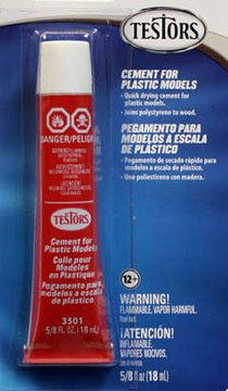 TESTORS CEMENT FOR PLASTIC MODELS [Toy]