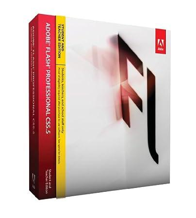 Adobe CS 5.5 Flash Professional, Student & Teacher version (PC)