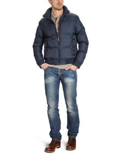 Mens Ben Sherman Heavyweight Nylon Puffa Jacket/ Coat