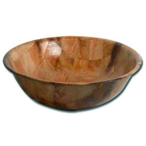 American Metalcraft RWW10 Woven Woodenware Round Shape Bowl, 10-Inch
