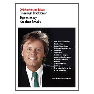Stephen Brooks - Training In Indirect Hypnosis (includes free 1 year online training course)