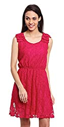 OSHEA Women's Dress (1181DRSS, Pink, S)