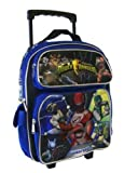 Power Ranger Rolling Backpack - Kids Size Power Ranger School Bag