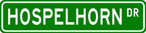 HOSPELHORN Street Sign ~ Personalized Family Lastname Sign ~ Gameroom, Basement, Garage Sign Novelty** ALUMINUM METAL - Buy HOSPELHORN Street Sign ~ Personalized Family Lastname Sign ~ Gameroom, Basement, Garage Sign Novelty** ALUMINUM METAL - Purchase HOSPELHORN Street Sign ~ Personalized Family Lastname Sign ~ Gameroom, Basement, Garage Sign Novelty** ALUMINUM METAL (The Lizton Sign Shop, Home & Garden,Categories,Patio Lawn & Garden,Outdoor Decor)