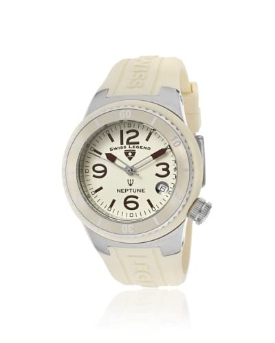 Swiss Legend Women's 11840P-016 Neptune Beige Silicone Watch