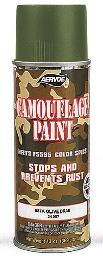 OLIVE DRAB CAMOUFLAGE SPRAY PAINT (Olive Drab Spray Paint compare prices)