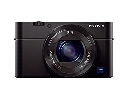 Sony Cybershot DSC-RX100M3 20.1MP Digital Camera (Black)