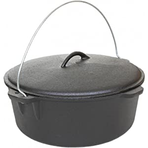 Camp Chef Pre - seasoned Cast Iron 16 Dutch Oven by Camp Chef