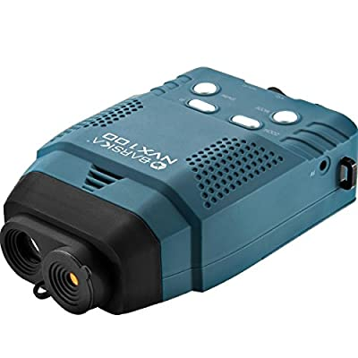 Barska NVX100 Night Vision Monocular, Blue