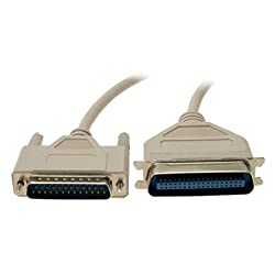 Gino 25/36 Pin Parallel Printer Cable Male 4.5ft