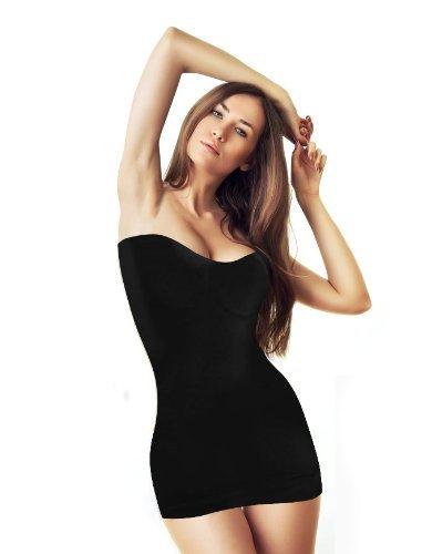Figurformende Damen-Unterwäsche – Bodyshape Unterkleid – Nahtloses Miederkleid jetzt kaufen