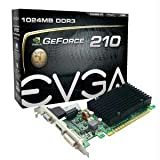Graphics Cards-EVGA Corporation GEFORCE 210 PASSIVE PCIE 2.01GB DVI HDMI VGA WITH