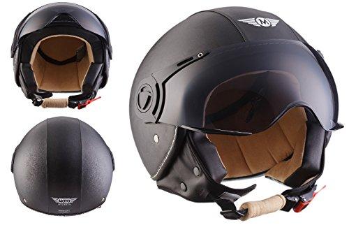 moto-helmets-h44-leather-black-helmet-casco-demi-jet-bobber-moto-motocicleta-urban-chopper-piloto-sc