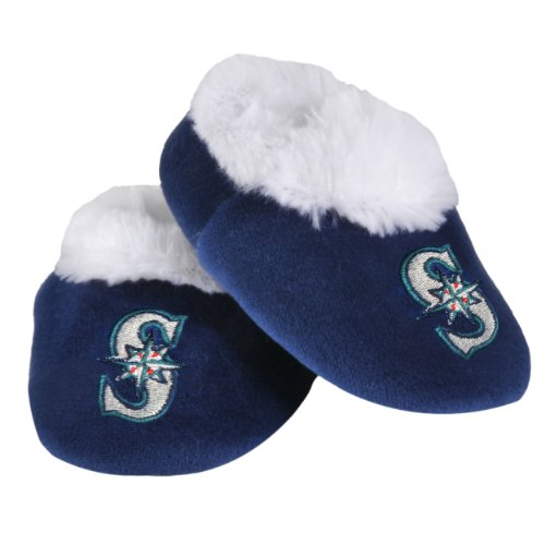 MLB Seattle Mariners Baby Bootie Slippers at Amazon.com