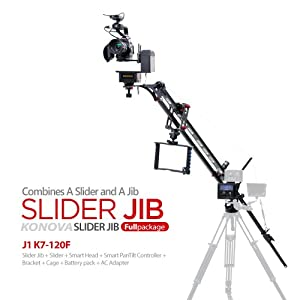Konova Slider Jib Full Set with K7 120cm Slider