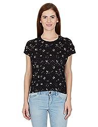 UCB Womens T-Shirt (15A3CM1E9260I901_Black _M)