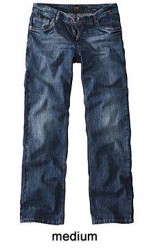 H.I.S. Denim Herren Jeans Hose Modell Randy, medium blue - HIS-102-10-1010, W40 L38