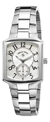 Philip Stein Women's 21-FMOP-SS Classic Stainless Steel Bracelet Watch