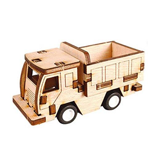 Desktop Wooden Model Kit Run! Truck / YG861-27