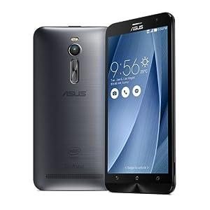 ASUS ZenFone 2 ZE551ML 64bit Quad Core Intel Atom 5.5 (4GB+32GB, Silver)