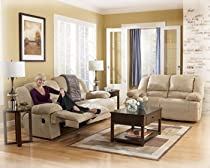 Hot Sale Ashley Furniture 2-Seat Reclining Sofa set