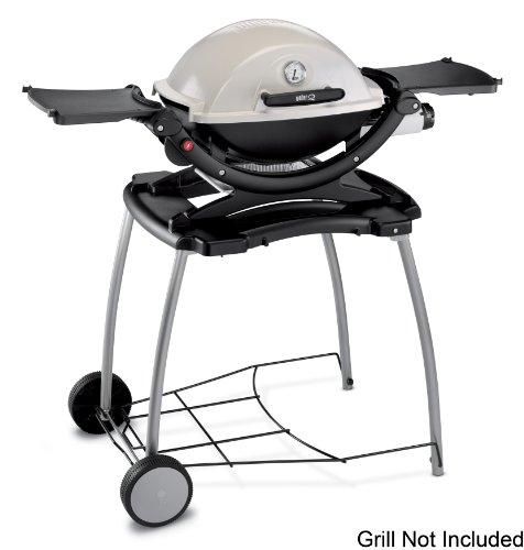 weber 6549 weber q rolling cart the lawn garden. Black Bedroom Furniture Sets. Home Design Ideas