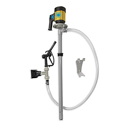 Action Pump 7510 55 Gallon Centrifugal Drum Pump Kit Pvdf, 110V With Flow Meter