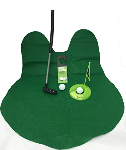 Golf Potty Putter Putting Game - A Whimsical Golfing Indoor ...