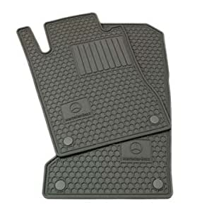 Genuine mercedes benz q6680688 rubber floor for Mercedes benz ml350 rubber floor mats